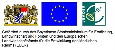 Gefördert durch das Bayerische Staatsministerium für Ernährung, Landwirtschaft und Forsten und den Europäischen Landwirtschaftsfonds für die Entwicklung des ländlichen Raums (ELER)
